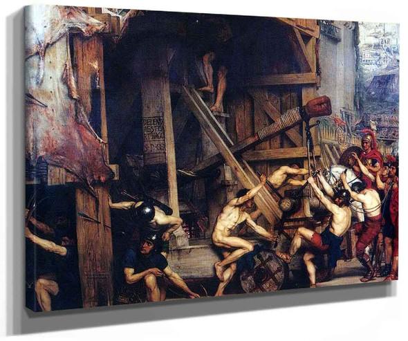 The Catapult By Sir Edward John Poynter