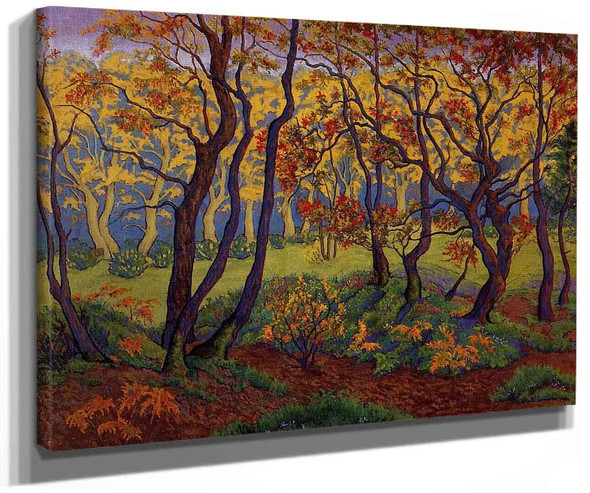 The Clearing (Also Known As Edge Of The Wood) By Paul Ranson
