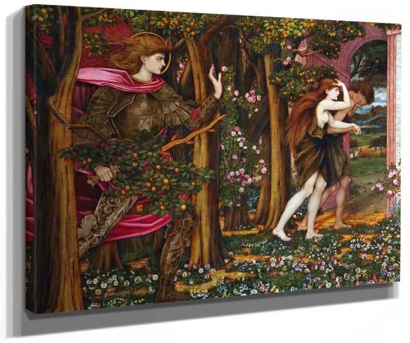 The Expulsion From Eden By John Roddam Spencer Stanhope