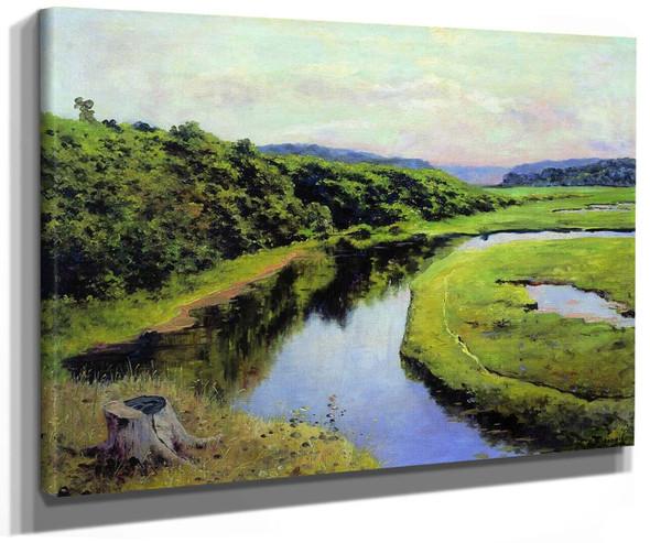 The Klyazma River By Vasily Polenov