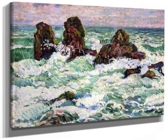 The Rocks By Theo Van Rysselberghe
