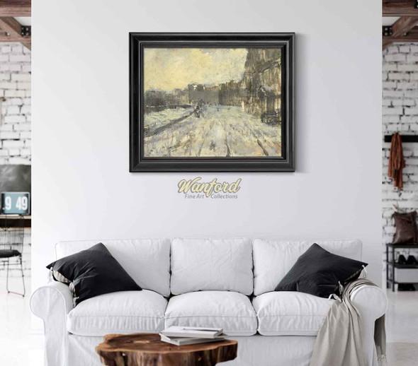 The Rokin In Amsterdam 1 By George Hendrik Breitner