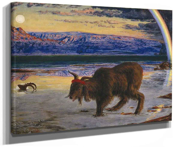 The Scapegoat 1 By William Holman Hunt