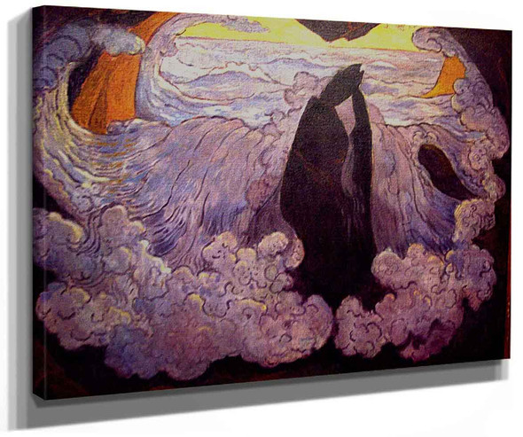 The Violet Wave By Georges Lacombe