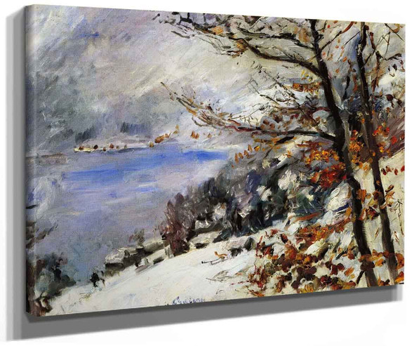 The Walchensee In Winter By Lovis Corinth