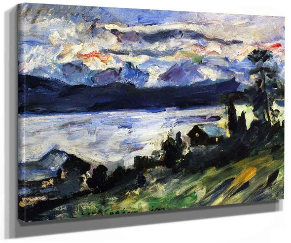 The Walchensee On Saint Johns Eve By Lovis Corinth