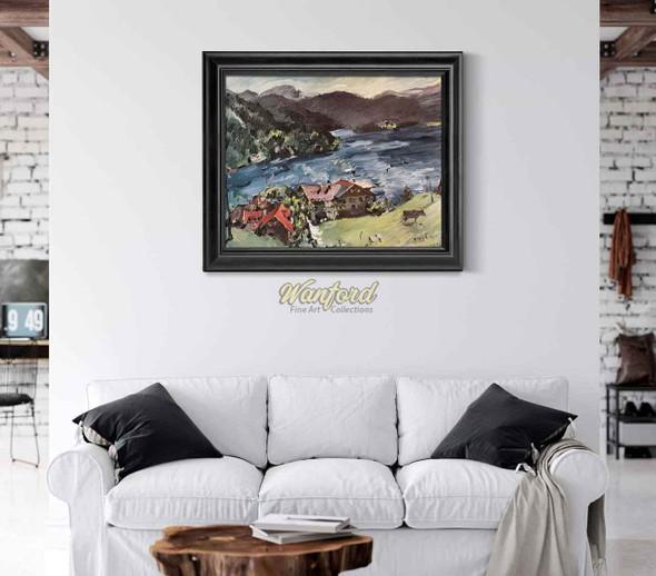 The Walchensee By Lovis Corinth