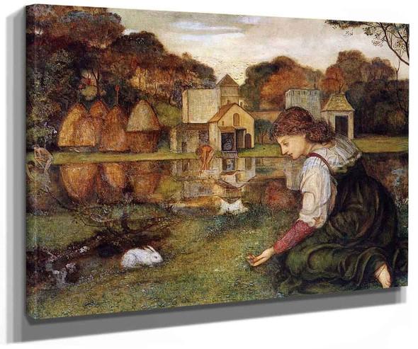 The White Rabbit By John Roddam Spencer Stanhope