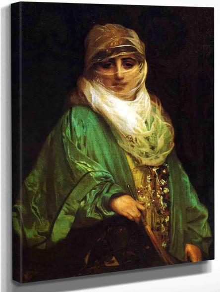 Femme De Constantinople By Jean Leon Gerome