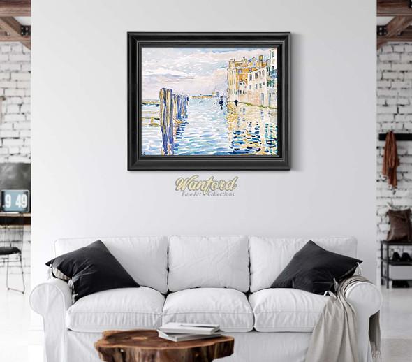 Venice Torcello Island By Henri Edmond Cross
