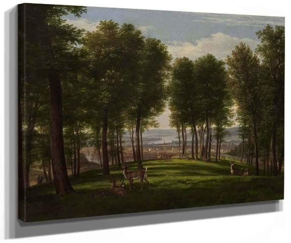 View Of Cincinnati Ohio By Thomas Worthington Whittredge