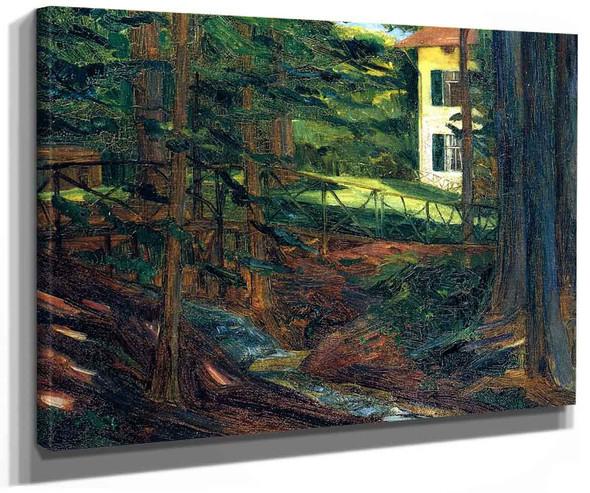 Villa Goes At Starnberg Lake By Wilhelm Trubner