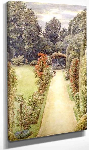 A Country Garden By Sir Edward John Poynter