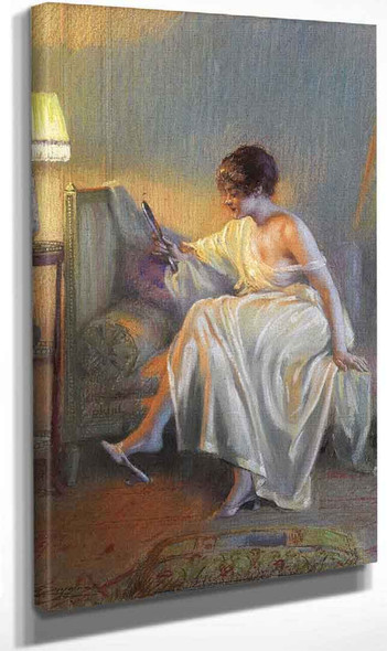 A Moment Of Reflection I By Delphin Enjolras