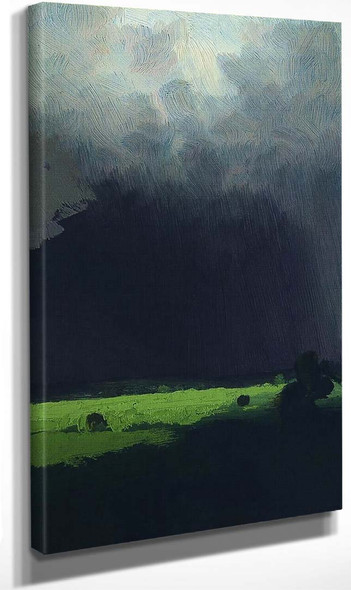 After The Rain. By Arkhip Ivanovich Kuindzhi