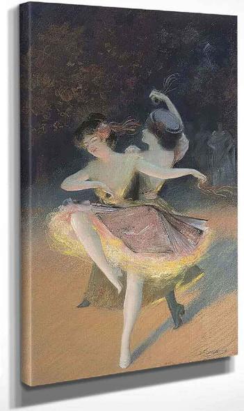 Ballet Dancers By Delphin Enjolras