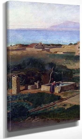 Bordighera Italy By Elihu Vedder