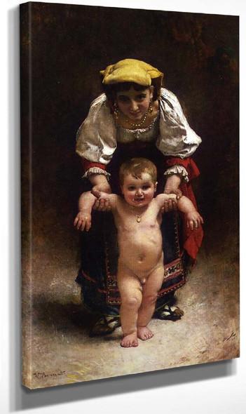 First Steps By Leon Joseph Florentin Bonnat