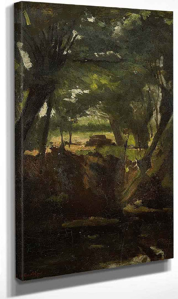 Forest View By George Hendrik Breitner