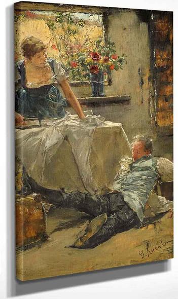 Petit Malheur By Gotthardt Kuehl