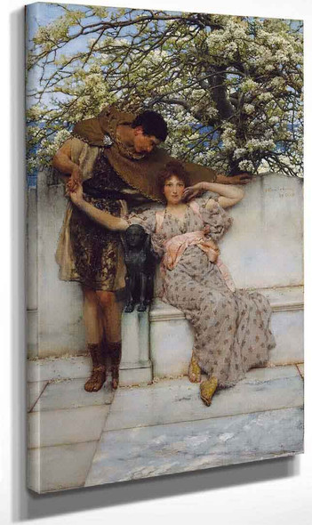 Promise Of Spring By Sir Lawrence Alma Tadema