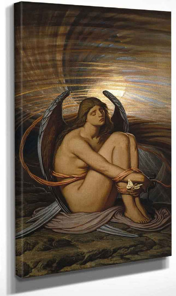 Soul In Bondage By Elihu Vedder