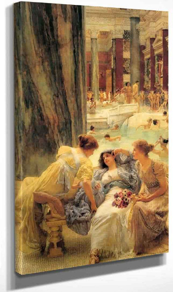 The Baths Of Caracalla (Also Known As Thermae Antoninianae) By Sir Lawrence Alma Tadema