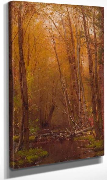 The Birches Of The Catskills By Thomas Worthington Whittredge