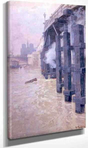 The Seine By Fritz Thaulow