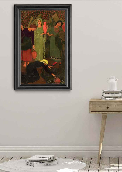 The Wait At The Well By Paul Serusier