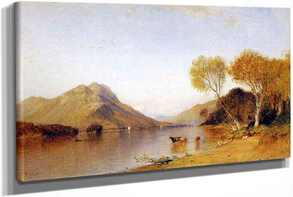 Afternoon On Lake George by Samuel Colman