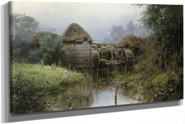 An Old Watermill by Vasily Polenov