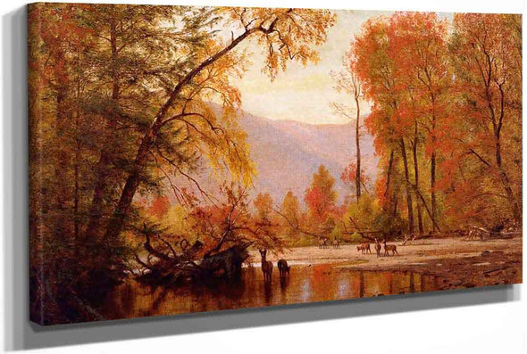 Autumn On The Delaware by Thomas Worthington Whittredge