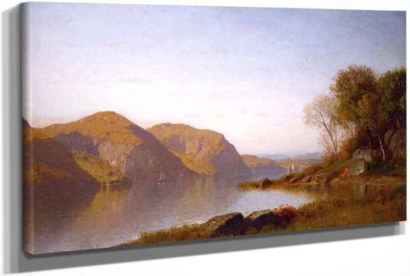 Autumn On The Hudson River by Samuel Colman