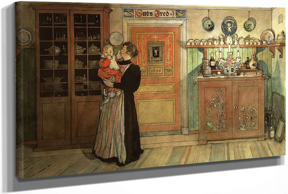 Between Christmas And New Year (From The Series At Home) by Carl Larssonv