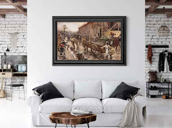 Boldootkar Te Amsterdam by George Hendrik Breitner