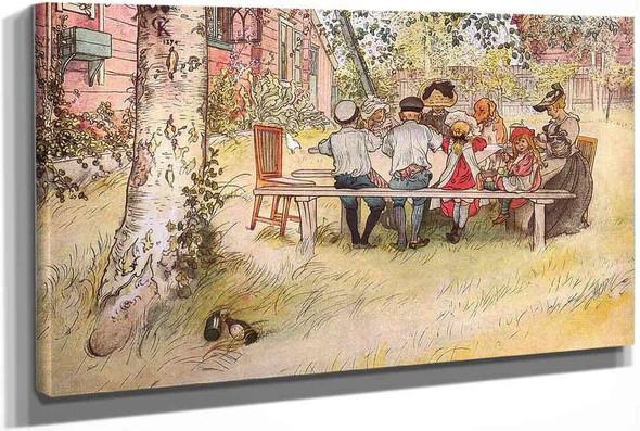 Breakfast Under The Big Birch by Carl Larssonv