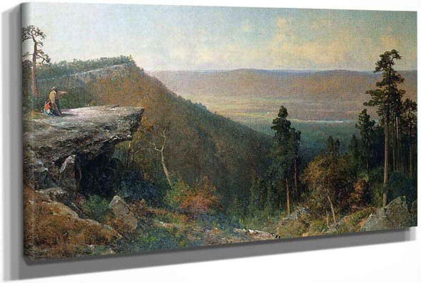 Hudson River Valley From The Catskill Mountain House by Thomas Hill