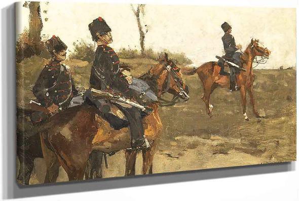 Hussars by George Hendrik Breitner