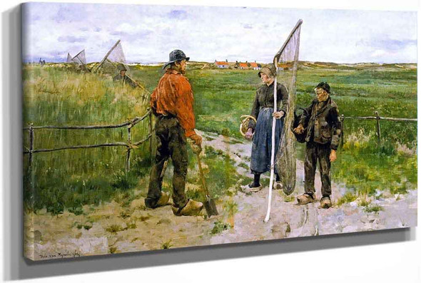 In West Flanders (Also Known As En West Flandre) by Theo Van Rysselberghe
