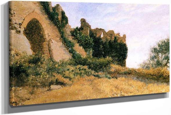 Italian Ruins by Elihu Vedder