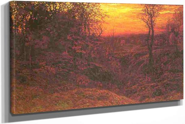 Landscape At Sunset by John Joseph Enneking