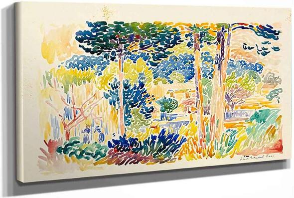 Landscape In Southern France by Henri Edmond Cross