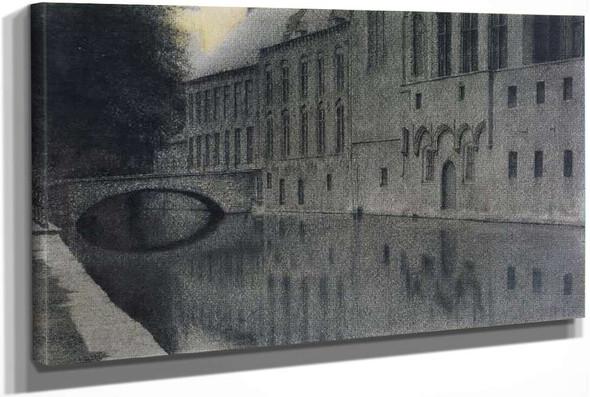 Memory Of Flanders by Fernand Khnopff