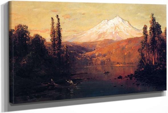Mount Shasta by Thomas Hill