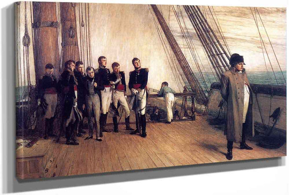 Napoleon On Board The Bellerophon by Sir William Quiller Orchardson