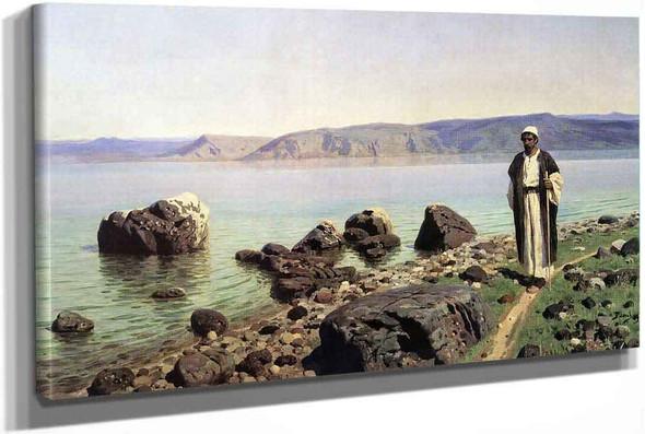On The Sea Of Tiberias (Galilee) 2 by Vasily Polenov