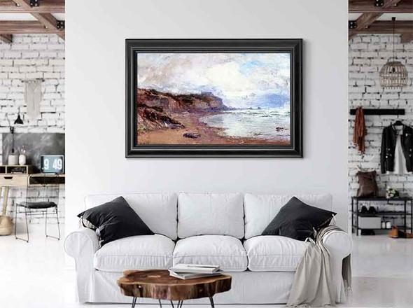Oregon Coastal Seascape by Theodore Clement Steele