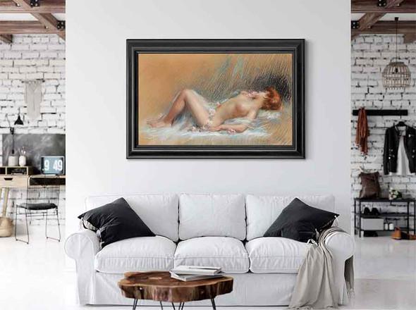 Reclining Nude I by Delphin Enjolras