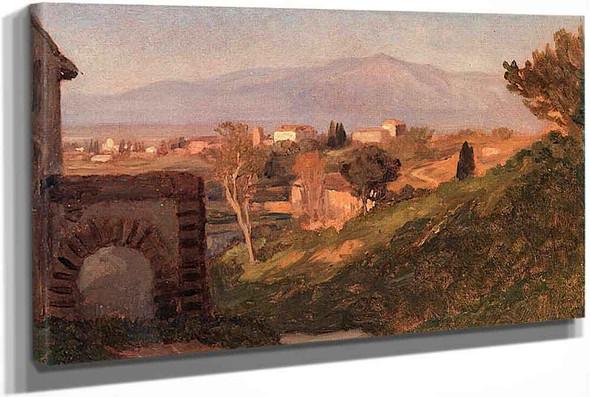 Roman Campagna by Elihu Vedder